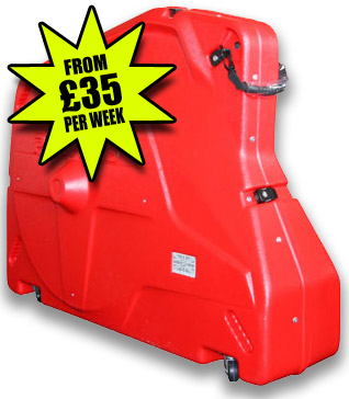 Great value Bike Box Hire from £35/week